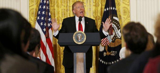 Trump: En az ırkçı olan insan benim