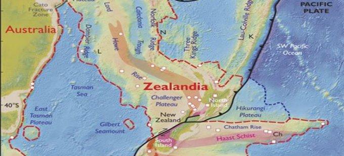 Dünya atlasına yeni kıta eklenebilir