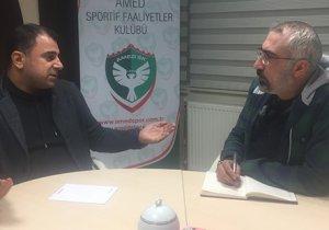 Amedspor Başkanı: Kayyım bize takımı Süper Lig'e çıkarırız dedi ama…