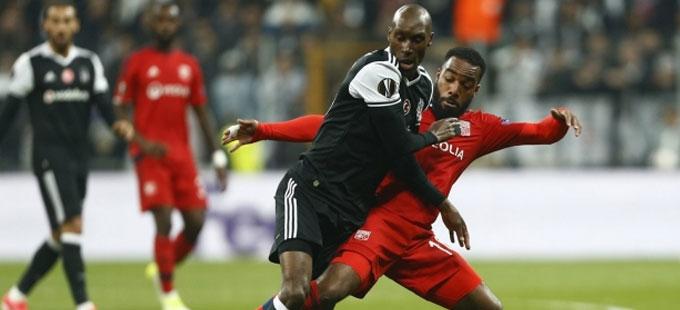 Beşiktaş'tan Avrupa'ya veda!