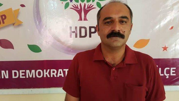 HDP'li vekil Berdan Öztürk gözaltına alındı