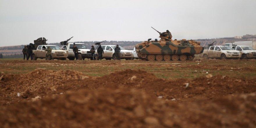 'ÖSO Efrin'e saldırdı'