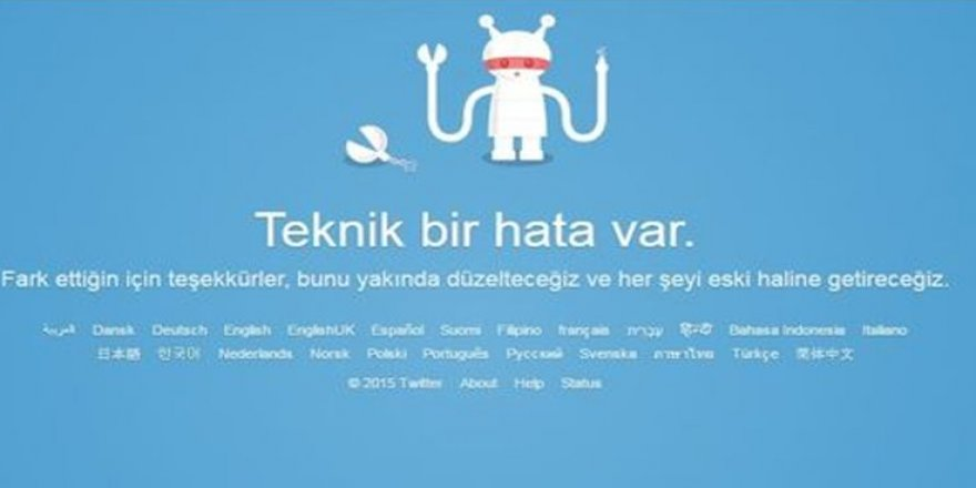 'Teknik bir hata var': Twitter çöktü mü?