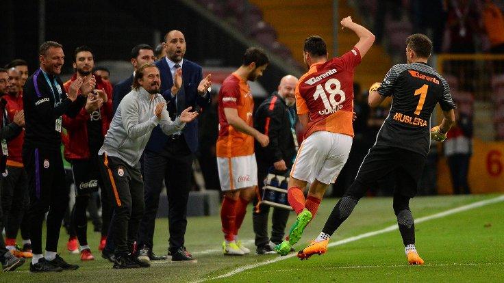 Galatasaray: 2 - Osmanlıspor: 0