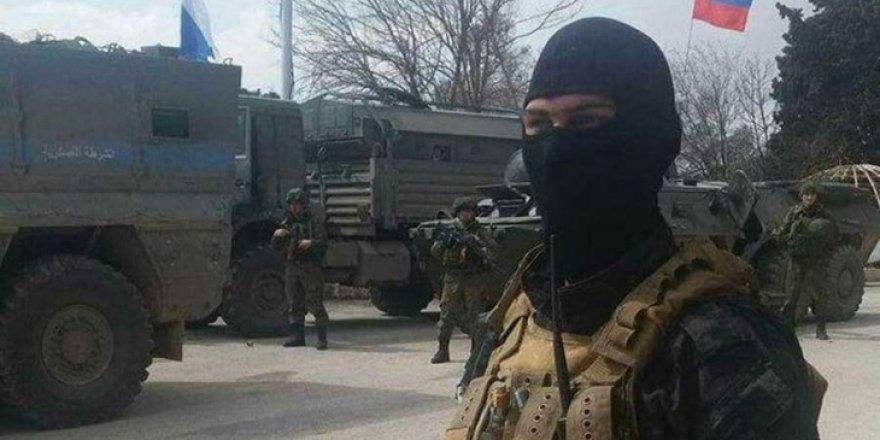 Rus Özel Kuvvetleri de Suriye'nin güneyine geldi