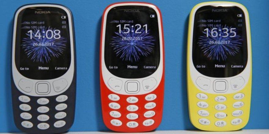 Yılan oyunuyla ünlü Nokia 3310'un yeni versiyonu piyasaya çıktı