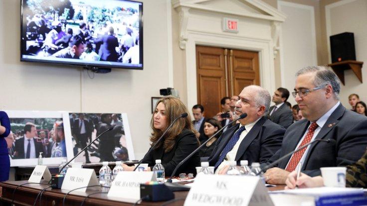 Cumhurbaşkanı Erdoğan'ın korumalarını kınayan tasarı kabul edildi