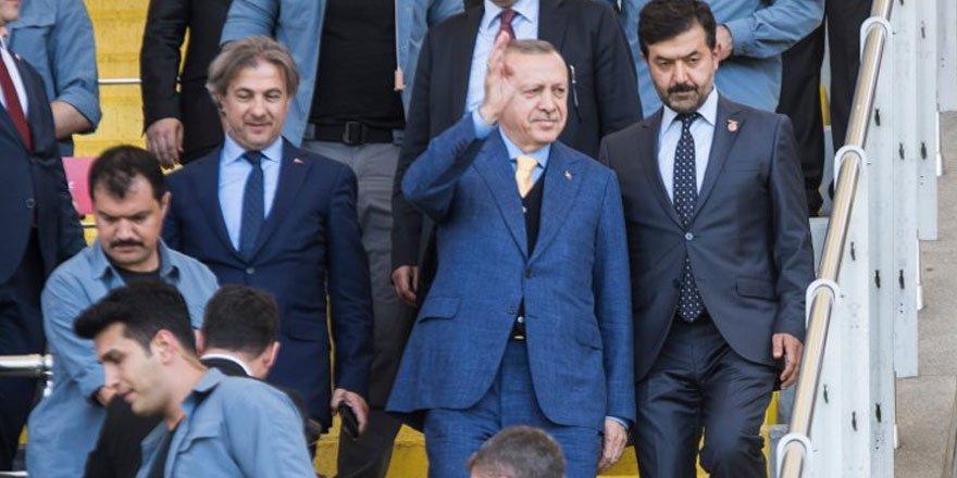 Cumhurbaşkanı Erdoğan: Talimat verdim, arena isimleri kaldırılacak