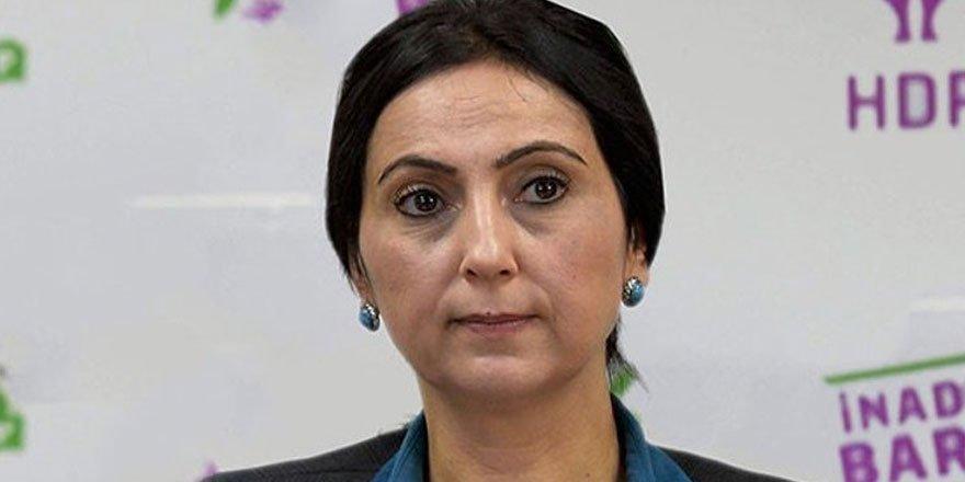 Figen Yüksekdağ'a 'cumhurbaşkanına hakaret'ten ceza