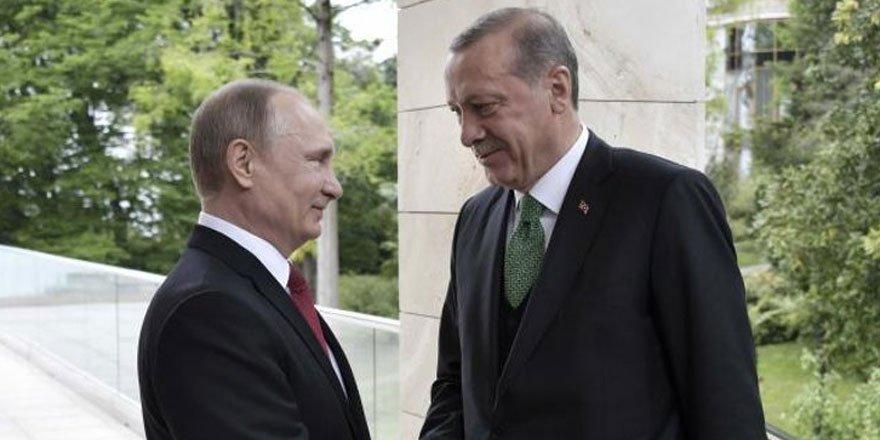 Erdoğan-Putin görüşmesi: Stratejik ortaklığa devam