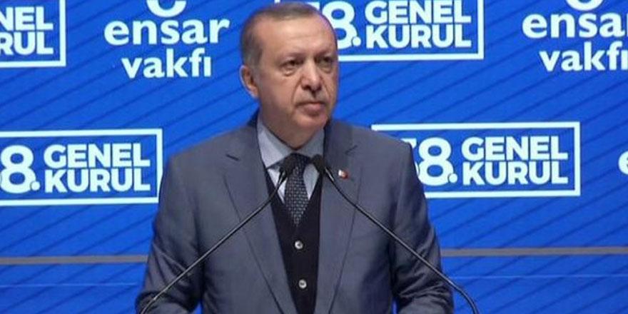 Erdoğan: Kültürel iktidarımız sıkıntılı