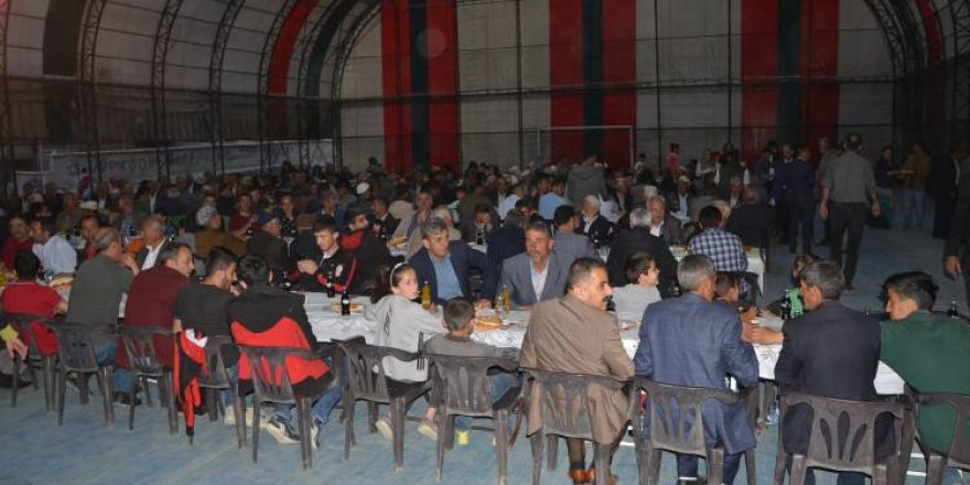 HDP'den Hakkari'de iftar yemeği
