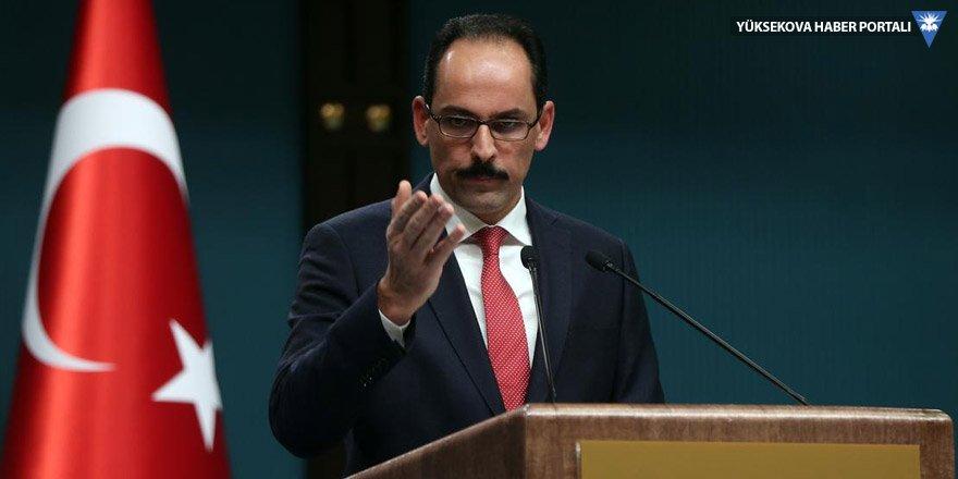 İbrahim Kalın: 'Türkiye Cumhurbaşkanı' daha iktisatlı