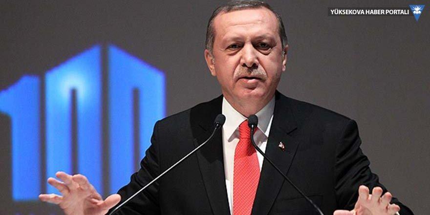 Erdoğan'dan 'mahkemelere gidin' çağrısı