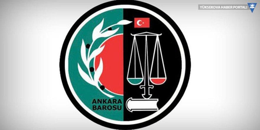 Ankara Barosu: Mültecilere saldırı olabilir