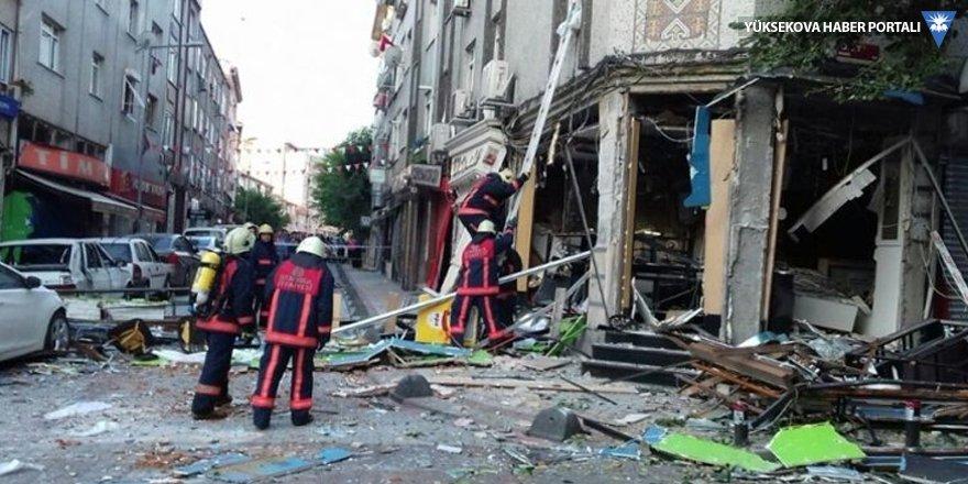 Bakırköy patlama: 1 yaralı
