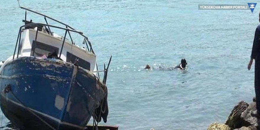 Sarıyer'de tekne kazası