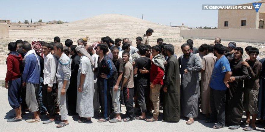 Rakka'da 83 IŞİD'ciye af