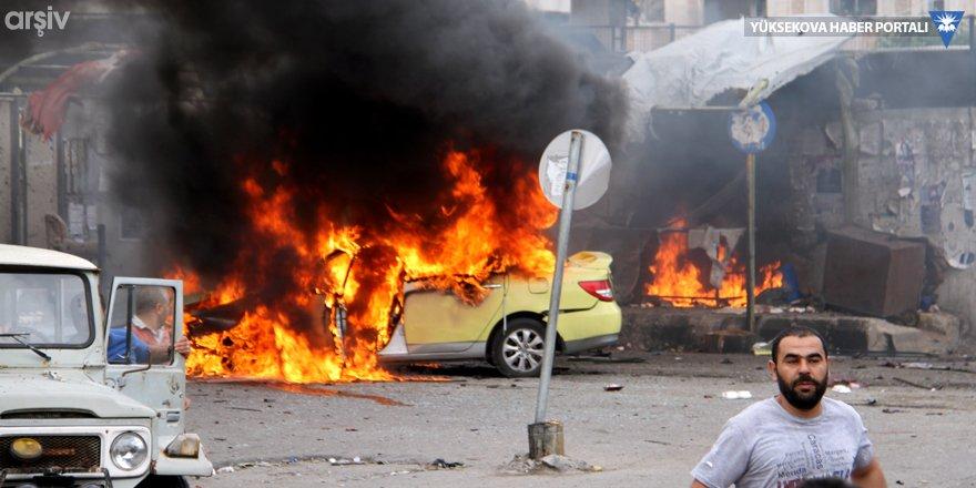 Türkiye sınırında bombalı araç saldırısı