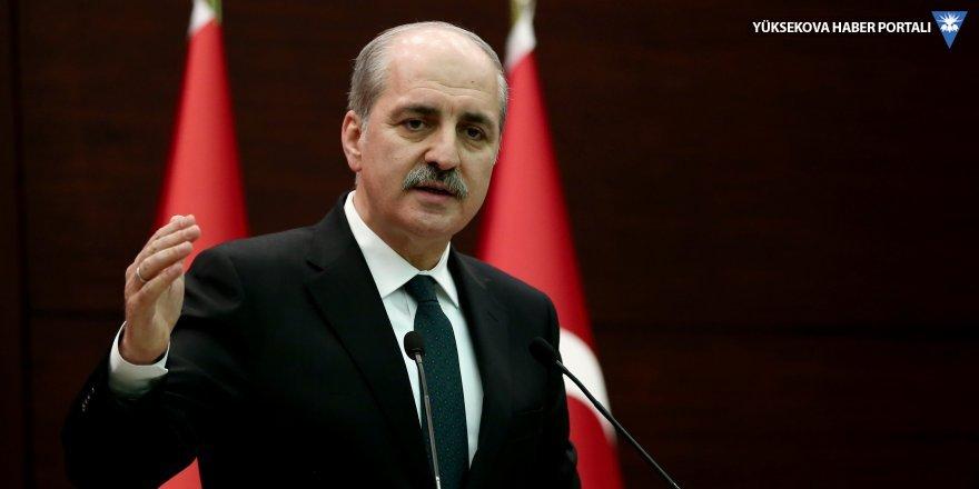 Kurtulmuş'tan, 'Erdoğan ' açıklaması