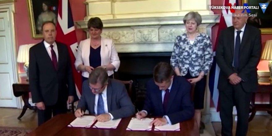 May, azınlık hükümeti 1.5 milyar sterlin verdi