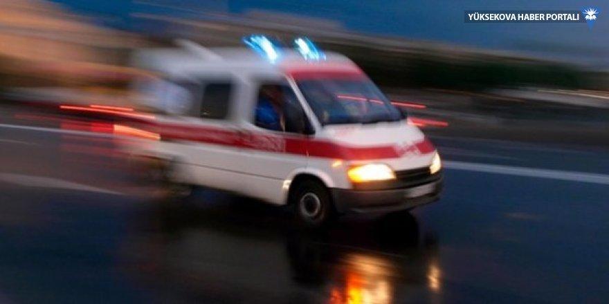 Kamyonet şarampole uçtu: 4 ağır yaralı