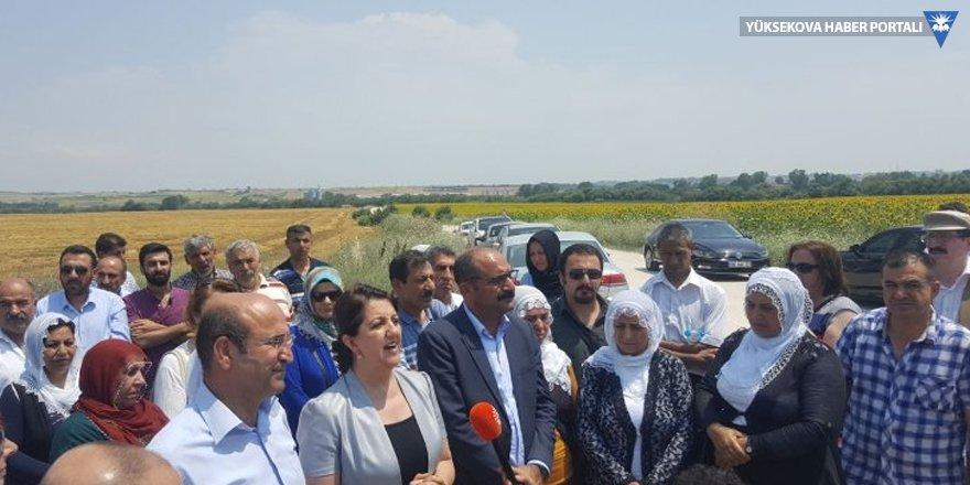 HDP'li Buldan: Adalet Yürüyüşü'nün bitmesi gereken yer tam burası