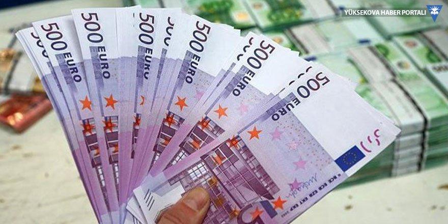 500 Euro'luk banknotlar elde kaldı