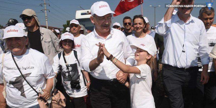 Kılıçdaroğlu: Evet oyu verenler de yürüyüşe destek veriyor