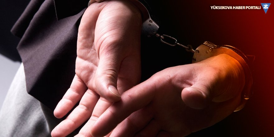 Yüksekova'da 2 kişi gözaltına alındı