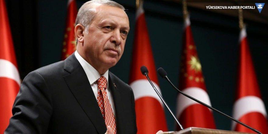 Erdoğan: Kıbrıs'a seyirci kalmayacağız