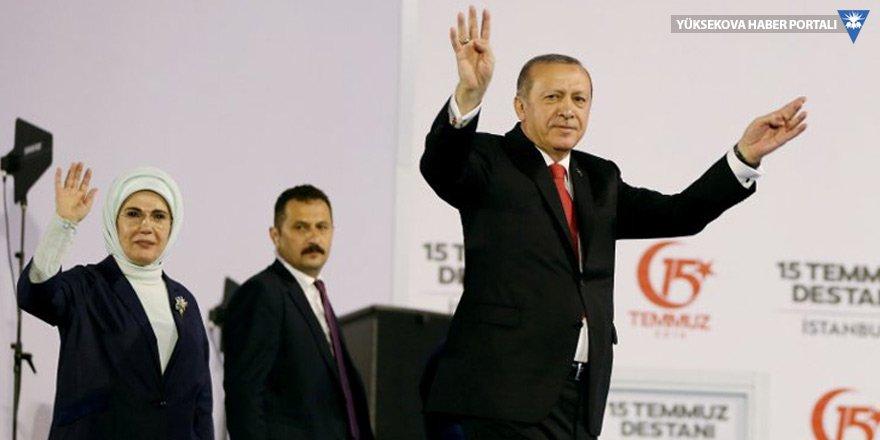 Erdoğan, 'Şehitler Abidesi'ni açtı
