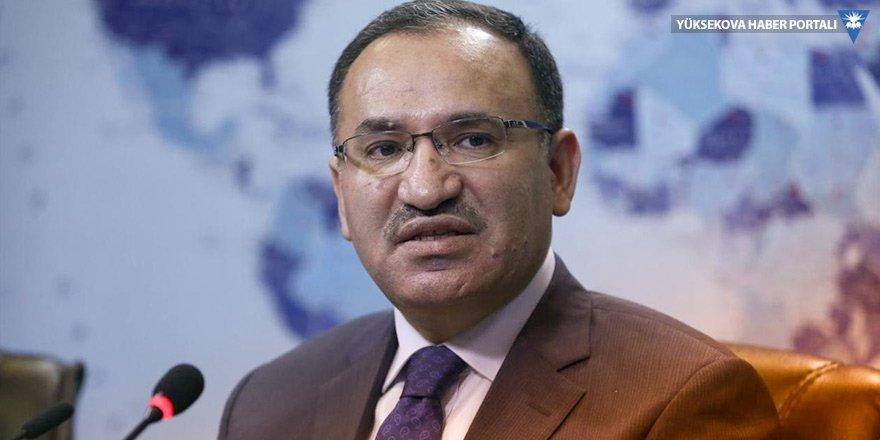 Hükümet Sözcüsü Bekir Bozdağ: Türk hava sahası, Kuzey Irak'a uçuşlara kapatıldı