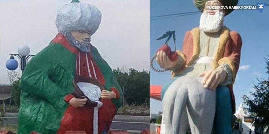 Nasreddin Hoca heykeli başkanı da kızdırdı