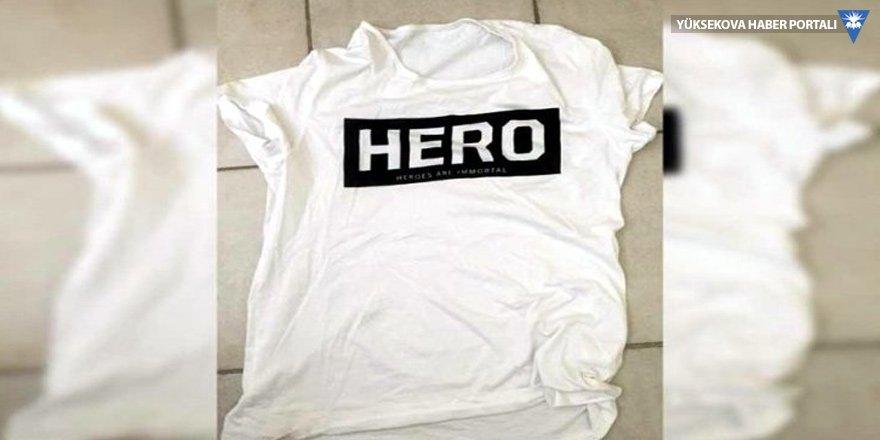 'Hero' tişörtü giyen 3 genç gözaltına alındı