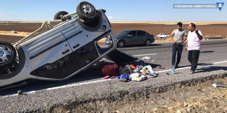 Siverek-Hilvan karayolunda trafik kazası: 1 ölü, 4 yaralı