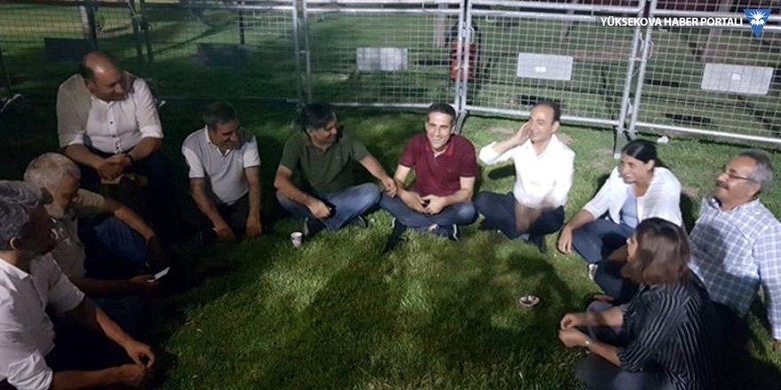 HDP'nin 'Vicdan ve Adalet Nöbeti'nin ilk günü