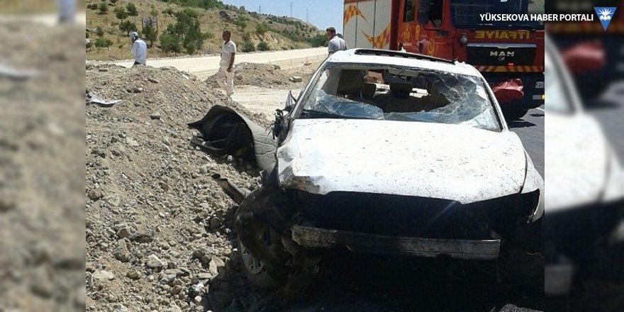 Mardin'de trafik kazası: 2 ölü, 1 yaralı