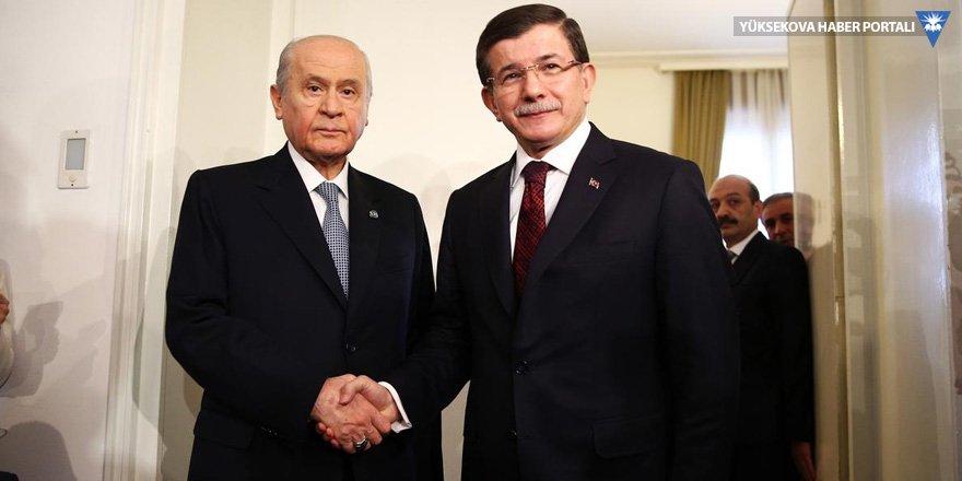 MHP: Davutoğlu 7 Haziran'dan sonra koalisyon teklif etmedi