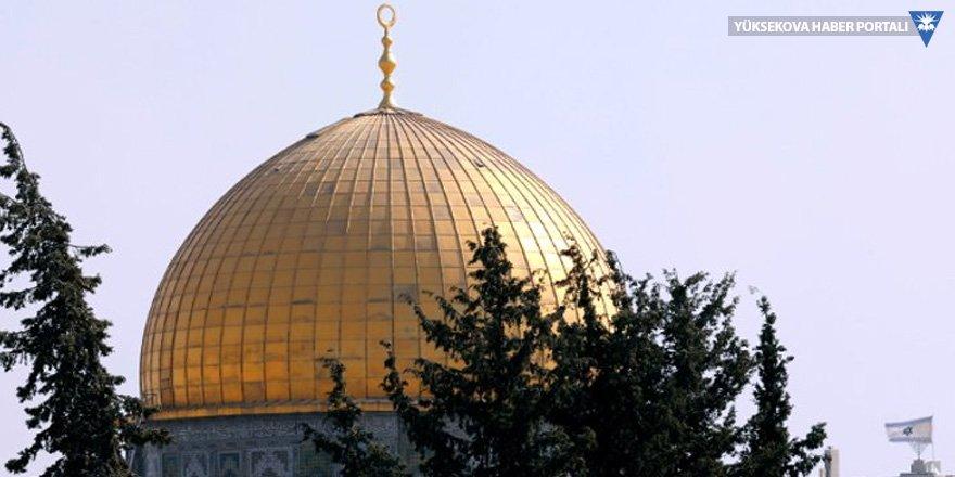 Mescid-i Aksa'da yeni gerilim: İsrail'den Filistinlilere müdahale
