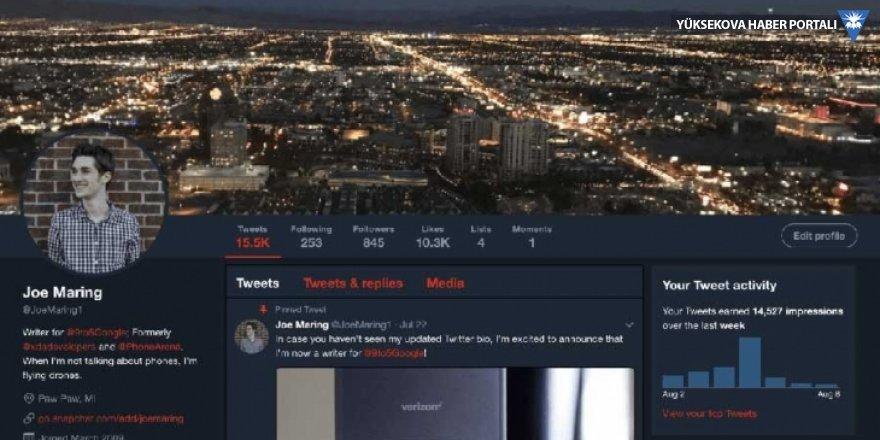 Twitter, karanlık yüzünü masaüstünde de gösterecek