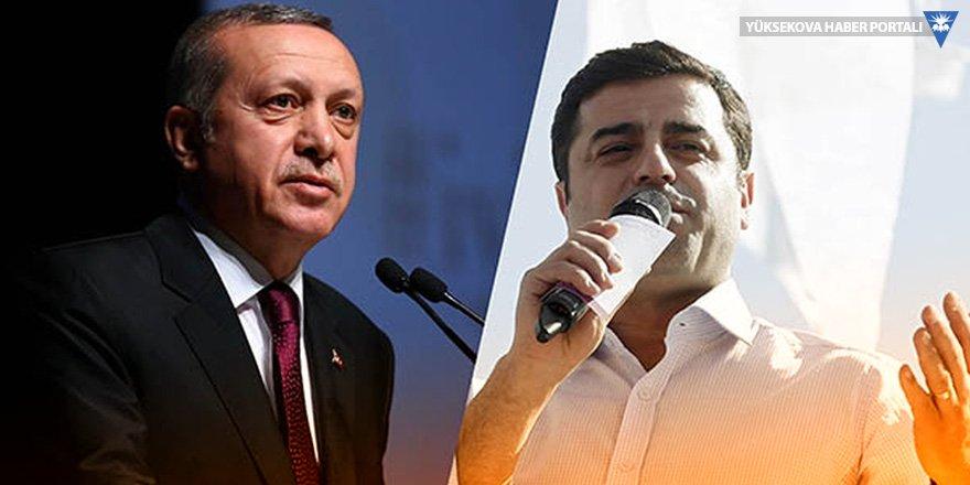 Erdoğan'a 'her seçmen için' Demirtaş davası!