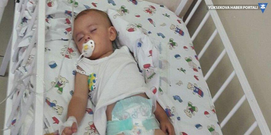 Miraz bebek hastaneye kaldırıldı!