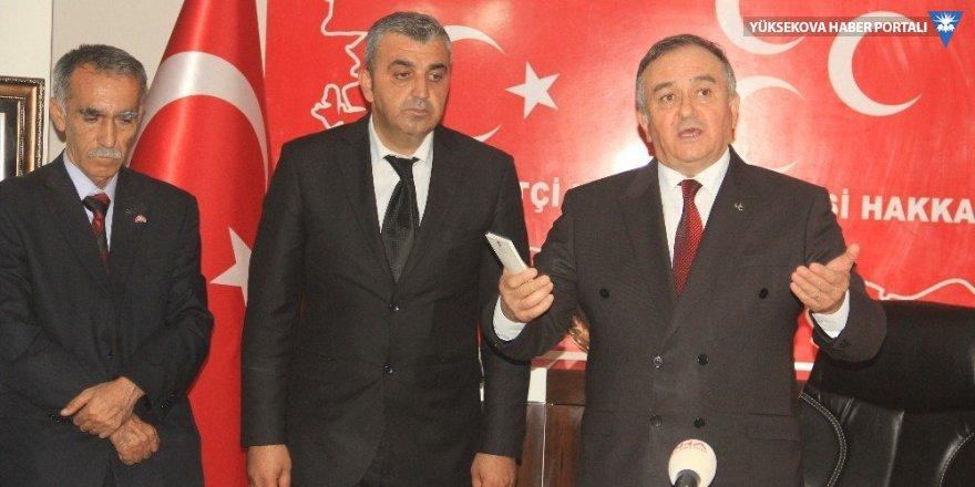 MHP Hakkari'de il başkanlığı bürosu açtı