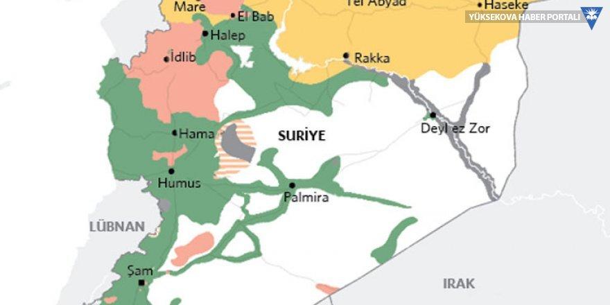 Suriye'de son durum: Hangi bölge, kimin elinde?
