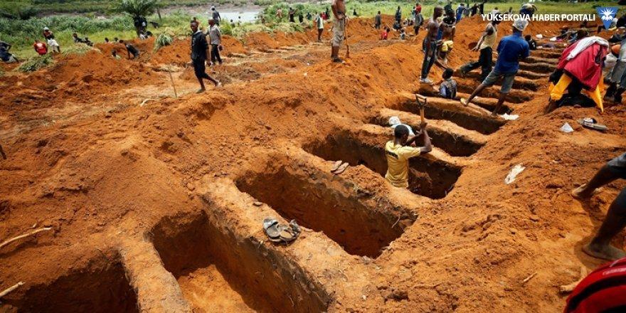 Sierra Leone heyelan faciasında 156'sı çocuk 461 kişi can verdi