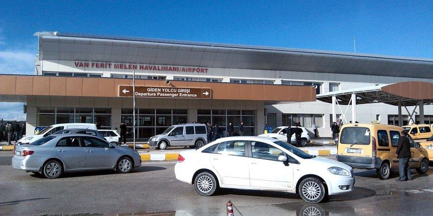 Van Ferit Melen Havalimanı istatistikleri açıklandı