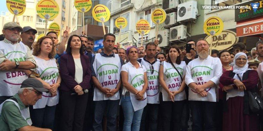 İzmir'deki Vicdan ve adalet nöbeti sona erdi