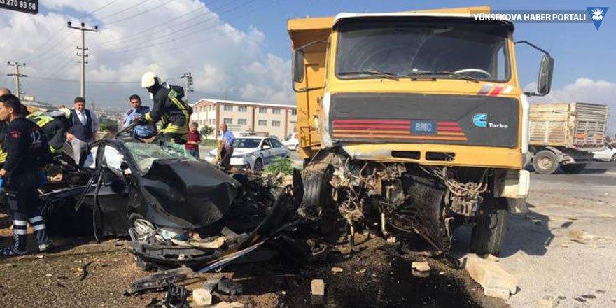 Başsavcının yaşamını yitirdiği kazada iki tahliye