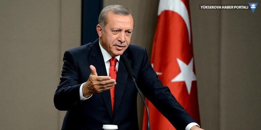 Erdoğan: Suriye'de başka bir devlete asla izin vermeyeceğiz